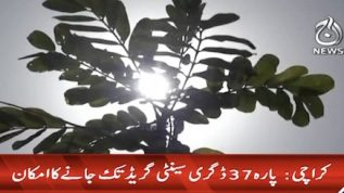 Temperatures to reach at 37 degrees today