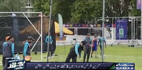 3 hours long practice session of Green Shirts