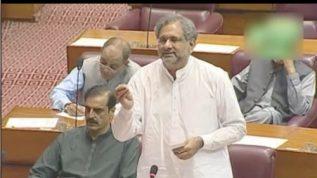 Shahid Khaqan Abbasi feels sorry for this government