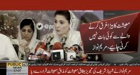 "Maryam Nawaz rubbished ""Charter of Economy"""