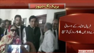 Faryal Talpur seeks physical remand for 14 days