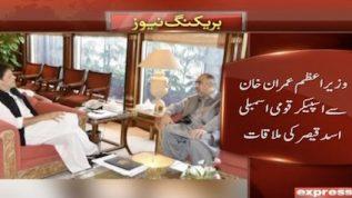 Imran Khan meets Asad Qaiser
