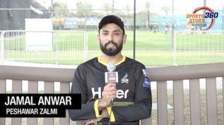 PSL – Peshawar Zalmi – Jamal Anwar