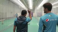 Bowling coach Azhar Mahmood is teaching Shaheen Afridi