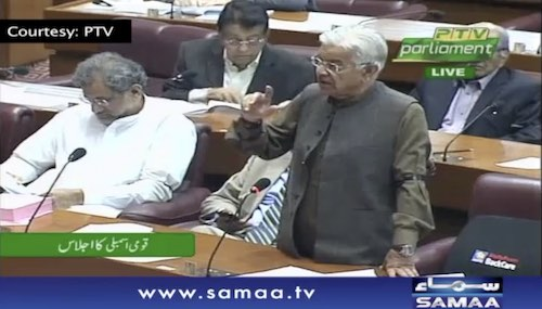Kh.Asif mentions the incentives to upshot export sector