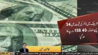 Dollar up by 24 paisa