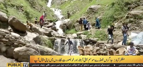 Muzaffarabad is a tourist destination