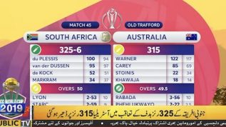 World Cup 2019: South Africa beat Australia by 10 runs
