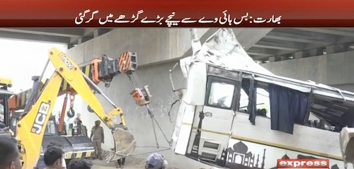 India: Overturned bus kills 29, injures 17