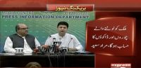 Murad Saeed has a press conference