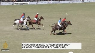 Shandur Polo Festival takes place on the roof of the world