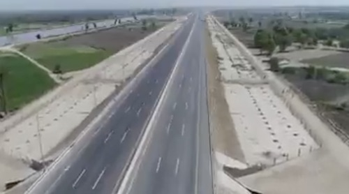 The Peshawar to Karachi Motorway is almost complete