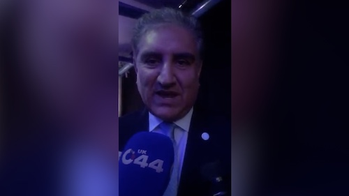 Qureshi rubbished censorship in media