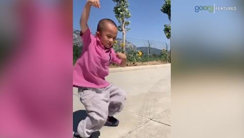 Tiny Kung Fu master