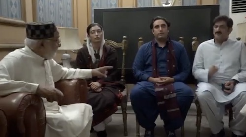 Bilawal meets traders delegation in Sukkur
