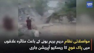 22 dead due to floods in Muzaffarabad