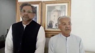 Judge involved in video scandal sent back but Nawaz still imprisoned: Kh.Asif