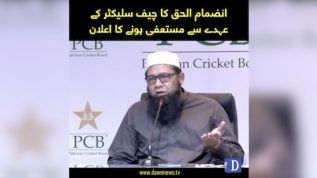 Inzamam steps down as chief selector