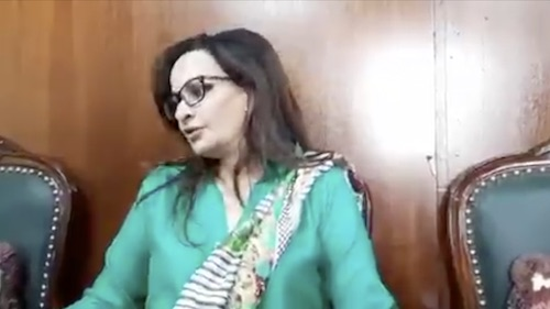 Sherry Rehman smells horse trading in Senate