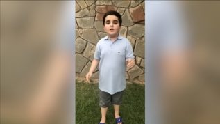 Boy shares why we must give taxes