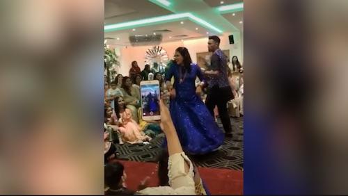 Mohammad Amir has got dance moves!