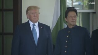 PM Imran Khan meets US President Donald Trump at the White House