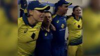 Australian women team wins ashes