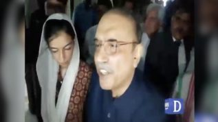 Imran talked about cricket in the US where this game is irrelevant: Zardari