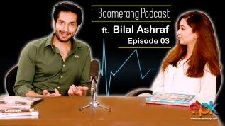 Boomerang – Episode 3 – Interview with Bilal Ashraf