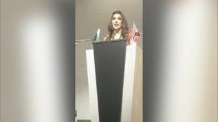 Mehwish Hayyat gives a befitting response to India