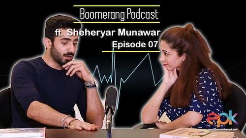 Boomerang - Episode 7 - Interview with Sheheryar Munawar