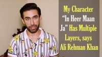 Ali Rehman talks about his role in his new movie