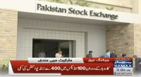 Pakistan Stock Exchange sheds 440 points