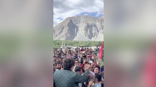Bilawal Bhutto ka Gilgit Baltistan may shandar isteqbal
