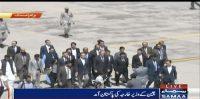 China ke Wazeer e Kharja Pakistan pahounch gae