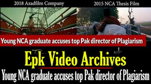 NCA grad accuses Pakistani director of plagiarism