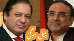 Nawaz Sharif aor Asif Zardari ki deal ho gai