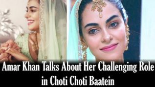 Amar Khan talks about her role