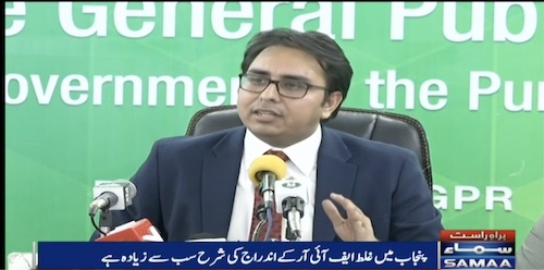 Dr Shahbaz Gill ki press conference