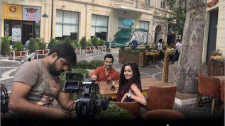 Junaid Khan and Zarnish Khan busy in drama shoot