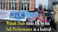 Wahab Shah stuns people in UK