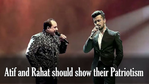 Atif and Rahat under criticism