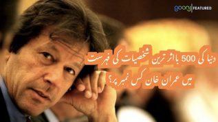 Dunya ki ba-asar shakhsiyat ki fehrist may Imran Khan kis number par?