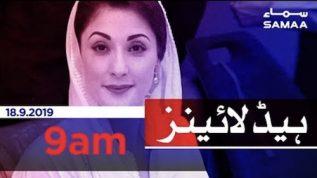 Samaa Headlines – 9AM – 18 September 2019