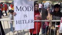 Modi ki Houston amad par Kashmirion ka ehtejaj