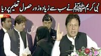 Imran Khan Ka taqreeb say khitab