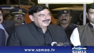 Sheikh Rasheed Ahmad Media Talk