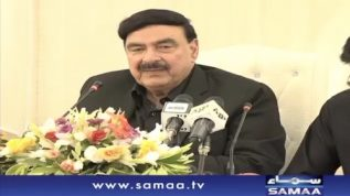 Sheikh Rasheed and Faisal Vawda Combine Press Conference