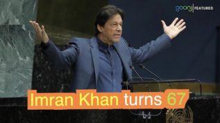 Wazir e Azam Imran Khan aaj apni Salgira mana rahe hain