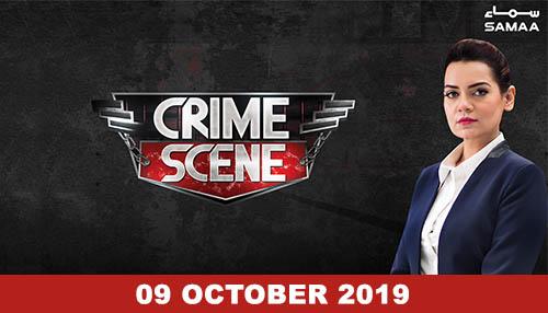 Crime Scene 09 October 2019